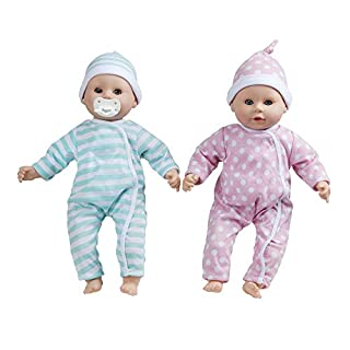 "Melissa & Doug Luke & Lucy Twin 15"" Dolls"