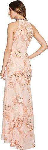 Klein Maxi Calvin Womens Floral Cd8blp8w Peach