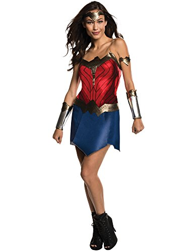 Rubie's Men's Wonder Woman Costume, Batman v Superman: Dawn of Justice, Small]()