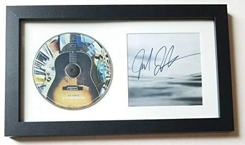 Jack Johnson REAL SIGNED All The Light Above It Too Framed CD Display #2 COA