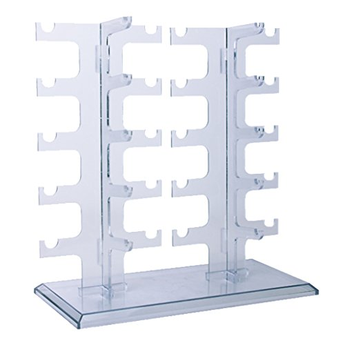 LORJE 1 X Sunglasses Rack Sunglasses Holder Glasses Display - Stand Sunglass