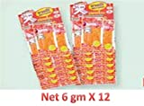 Squid Seafood Snack 12x 6 Gms Bento Sweet & Spicy