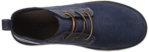 Navy Neumel Leather Men's Sneaker Unlined UGG HwYqFY