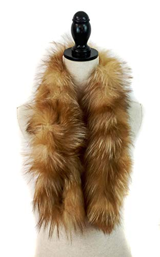 Surell Fox Fur Collar Scarf...