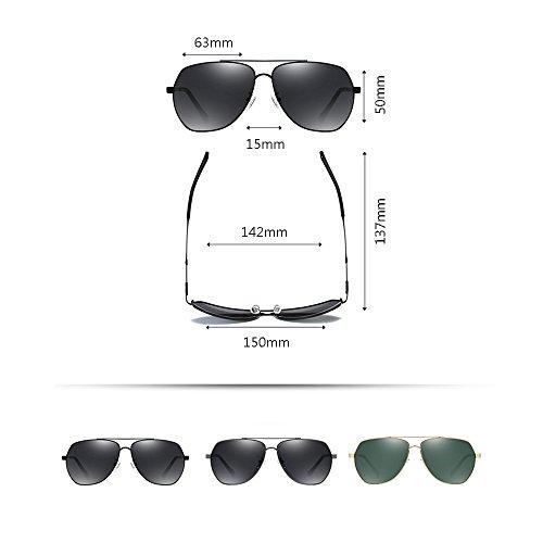 Polarizer C los aire de Aviator al hombres C libre sol Color sol Gafas SSSX Gafas de GYYTYJ Escalada los Glasses de de Pesca Gafas de Driving deportes sol wXnPTqp
