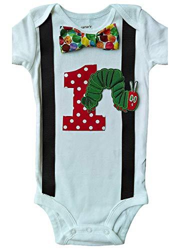Baby Boys 1st Birthday Hungry Caterpillar Bodysuit ()