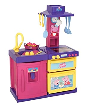 Cocina Peppa Pig | Peppa Pig Cook And Play Kitchen Amazon Co Uk Toys Games