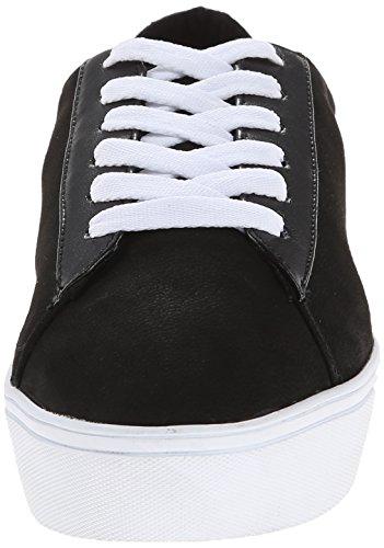Nine West Hearmeout Nubuk Fashion Sneaker Black/Multi