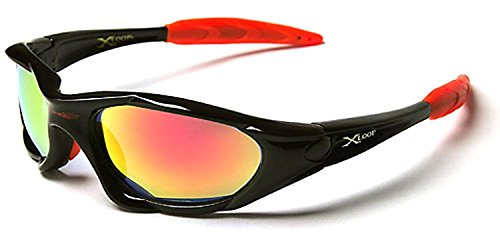 Knockaround Sunglasses, Wrap Around Men's Sunglasses UV Protection Perfect for Running Skiing & Outdoor Sports - Black Friday Sale, price - Friday Sunglasses