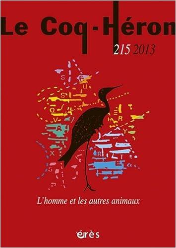 Livre Le Coq-Héron, N° 215, décembre 2013 : L'homme et les autres animaux pdf, epub