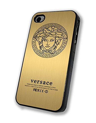 Versace Gold Personalized Iphone Case - Iphone 4/4s, Iphone 5/5s/5c, Iphone 6/6s/6+ (iphone 5/5s black)
