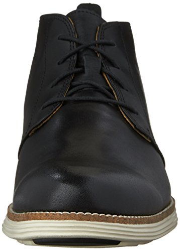 Cole Haan Hombres Original Grand Chukka 7 M Woodbury Leather-espresso Negro / Blanco