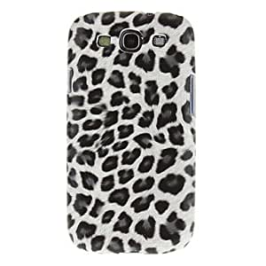 PEACH Leopard Print Style Plastic Hard Back Case Cover for Samsung Galaxy SIV S4 I9500