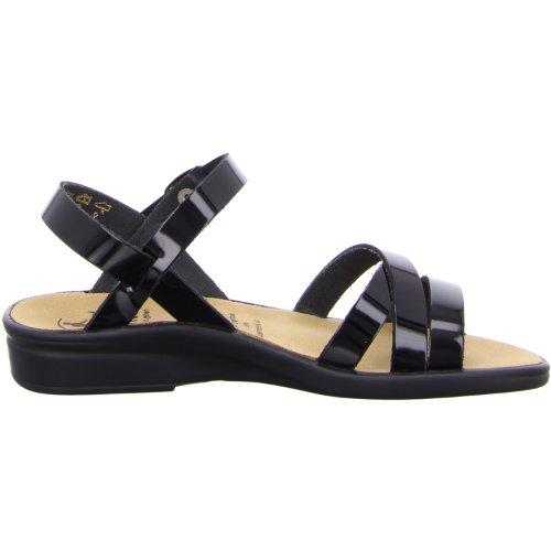 Ganter SONNICA Weite E sandali da donna, Nero (nero), 3.5
