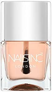 Nails Inc 45 Second Top Coat with Kensington Caviar - .47 oz