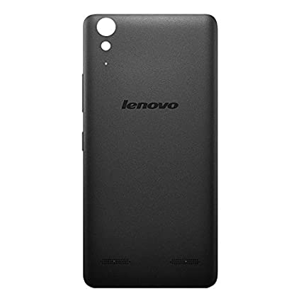 detailing 7f5a3 47721 Red Qube Back Replacement Cover for Lenovo A6000 Plus (Black)