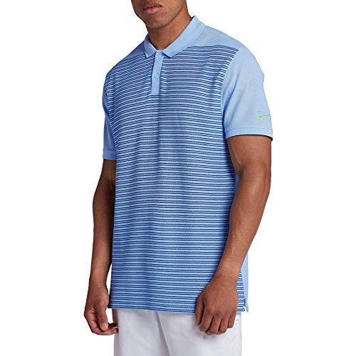 (ナイキ) Nike メンズ ゴルフ トップス Nike Stripe Pique Golf Polo [並行輸入品]