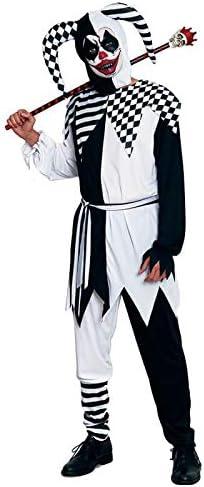 Disfraz Bufón Negro para Hombre Halloween (Talla L) (+ Tallas ...