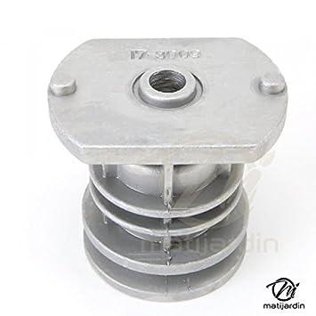 Soporte de cuchilla para cortacésped Castelgarden GGP 22465608/0; diámetro interior de 25,4 mm