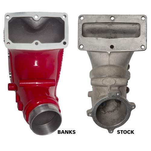 Banks 42788-PC Monster Intake System W/Fuel Line-2007.5-2018 Dodge/Ram 6.7L 3.5 Red