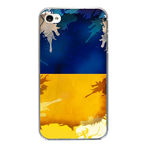 "Disagu Design Case Coque pour Apple iPhone 4s Housse etui coque pochette ""Ukraine"""