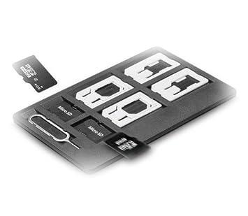 Funda fina universal para tarjetas SIM, para 4 tarjetas SIM ...