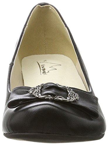 Hirschkogel Women's 3004503 Closed Toe Heels Black (Schwarz 002) discount genuine fAUDUL6LJ
