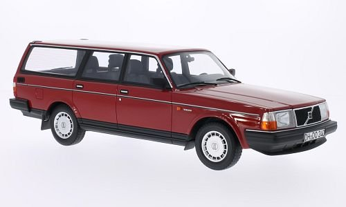 Volvo 240 GL station wagon, red, 1989, Model Car, Ready-made, BoS-Models 1:18 - Buy Online in ...