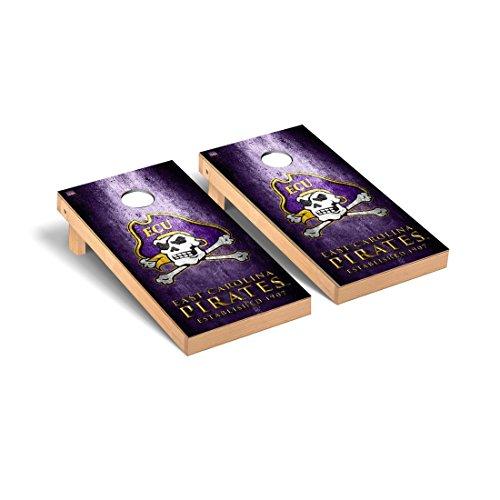Victory Tailgate East Carolina Pirates Regulation Cornhole Game Set Museum Version