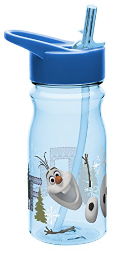 Zak Designs Tritan Water Bottle With Flip Up Spout And