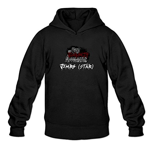 XIULUAN Men's The Red Jumpsuit Apparatus 4 Logo Hooded Sweatshirt XXL - Hoodie Red The Jumpsuit Apparatus