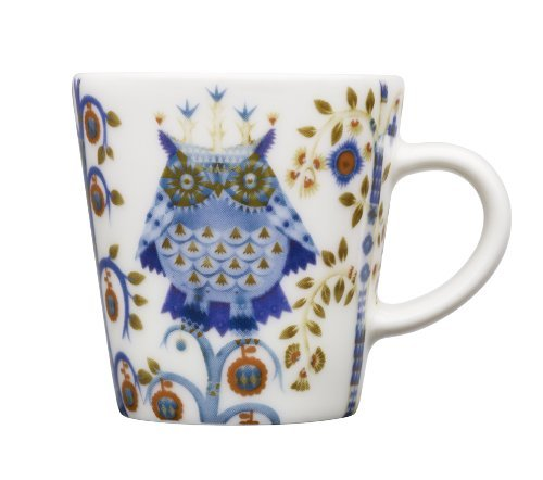 - Iittala Taika Espresso Cup, White, 3-1/3-Ounce