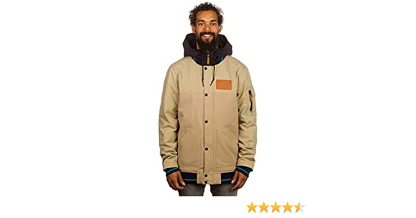 Amazon.com : Oakley Sisters Insulated Jacket Mens New Khaki S : Sports & Outdoors