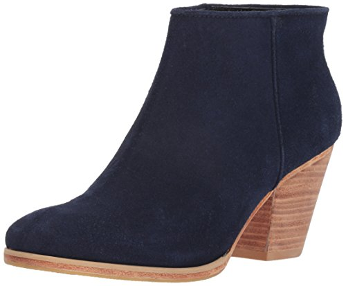 Rachel Comey Women's Mars Ankle Boot, Navy, 8.5 M US
