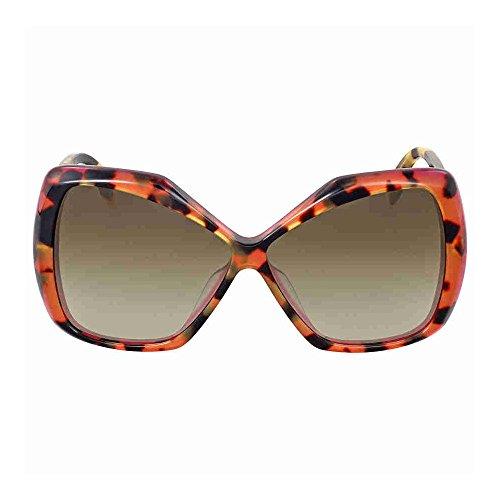 Fendi FF0092-S-D4Y-DB-58 Ladies FF 0092-S D4Y DB Havana Pink - Fendi Havana Sunglasses