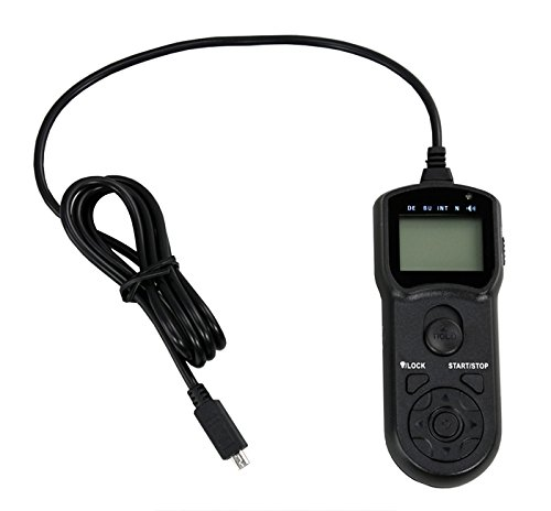 JJC TM-I2 Multi-Function LCD Timer Remote Control for Sigma DP1 DP2 DP3 Quattro As CR-31