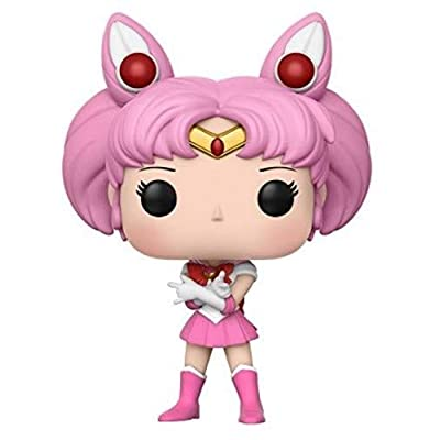 Funko 13753-PX-1U3 Pop Anime: Sailor Moon - Chibi Moon Collectible Vinyl Figure, Standard, Pink: Funko Pop! Anime:: Toys & Games