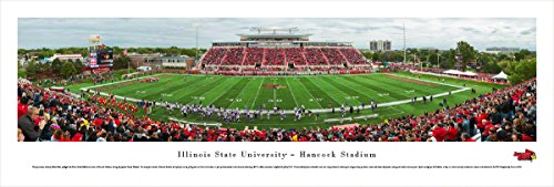 Illinois State Football -  Blakeway Panoramas Unframed College Sports (Illinois University Framed)