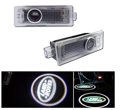 Kaizen 2 Pcs OEM Fit Super Bright LED Laser Ghost Shadow CREE Door Step Courtesy Welcome Light Lamps For Land Range Rover Sport 2008 Discover CAN-bus No Error (Range Rover Sport Supercharged 2008)