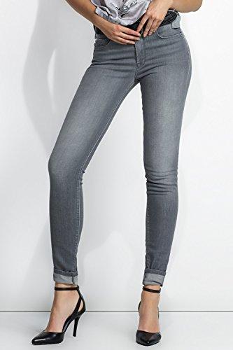 Salsa - Jeans Carrie avec ceinture haute et jambe très mince - Femme