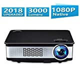 Video Projector Native 1080p Full HD Home Theater Projector Multimedia LED Movie Projector 3000 Lumens Home Cinema TV Games Projector