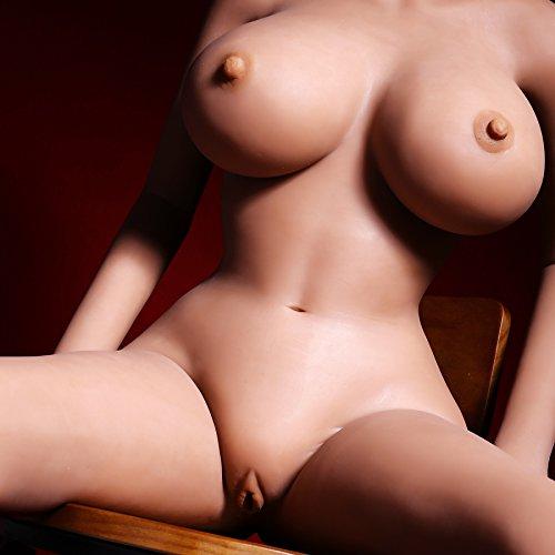 5.41 ft/165 cm grandes Pecho verdadera – pechos grandes de silicona grandes pechos perfecta Sex muñeca para masculinos, deportes chica Completo sólida silicona Sex muñeca a verdaderos Sex muñeca para hombres 931372