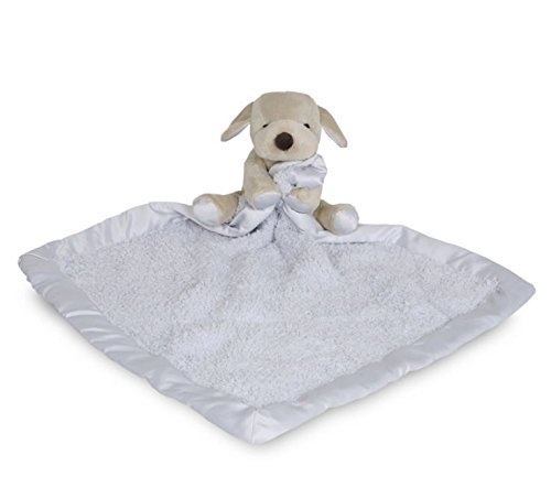 Barefoot Dreams CozyChic Barefoot Buddie - Blue/Puppy