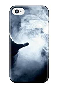 Protective Tpu Case With Fashion Design For Iphone 4/4s (hand)