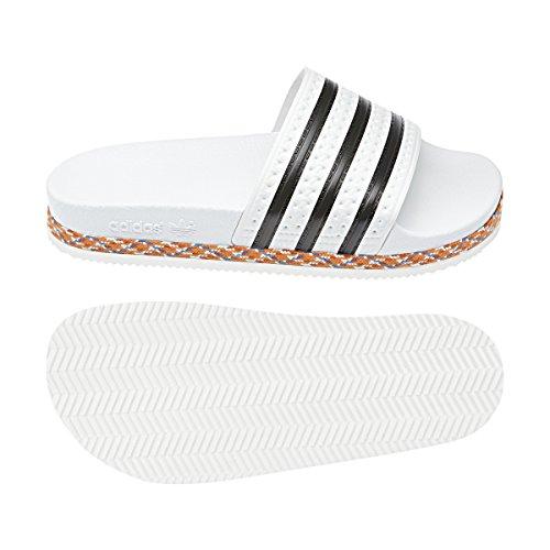 adidas Weiß Bold Adilette Damen Ftwbla amp; Negbás Unknown 000 New W Dusch Badeschuhe Ftwbla 6za6qwHrnt