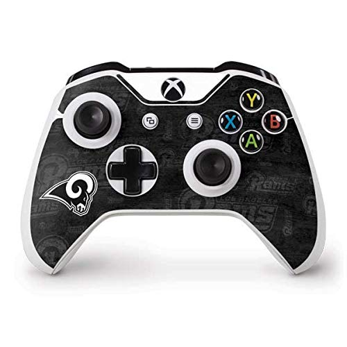 - Skinit Los Angeles Rams Black & White Xbox One S Controller Skin - Officially Licensed NFL Gaming Decal - Ultra Thin, Lightweight Vinyl Decal Protection