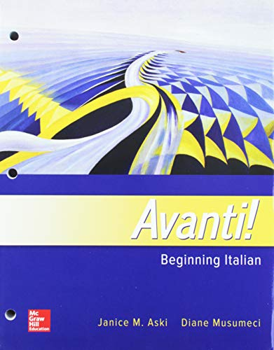 GEN COMBO LL FOR AVANTI; WORKBOOK/LAB MANUAL
