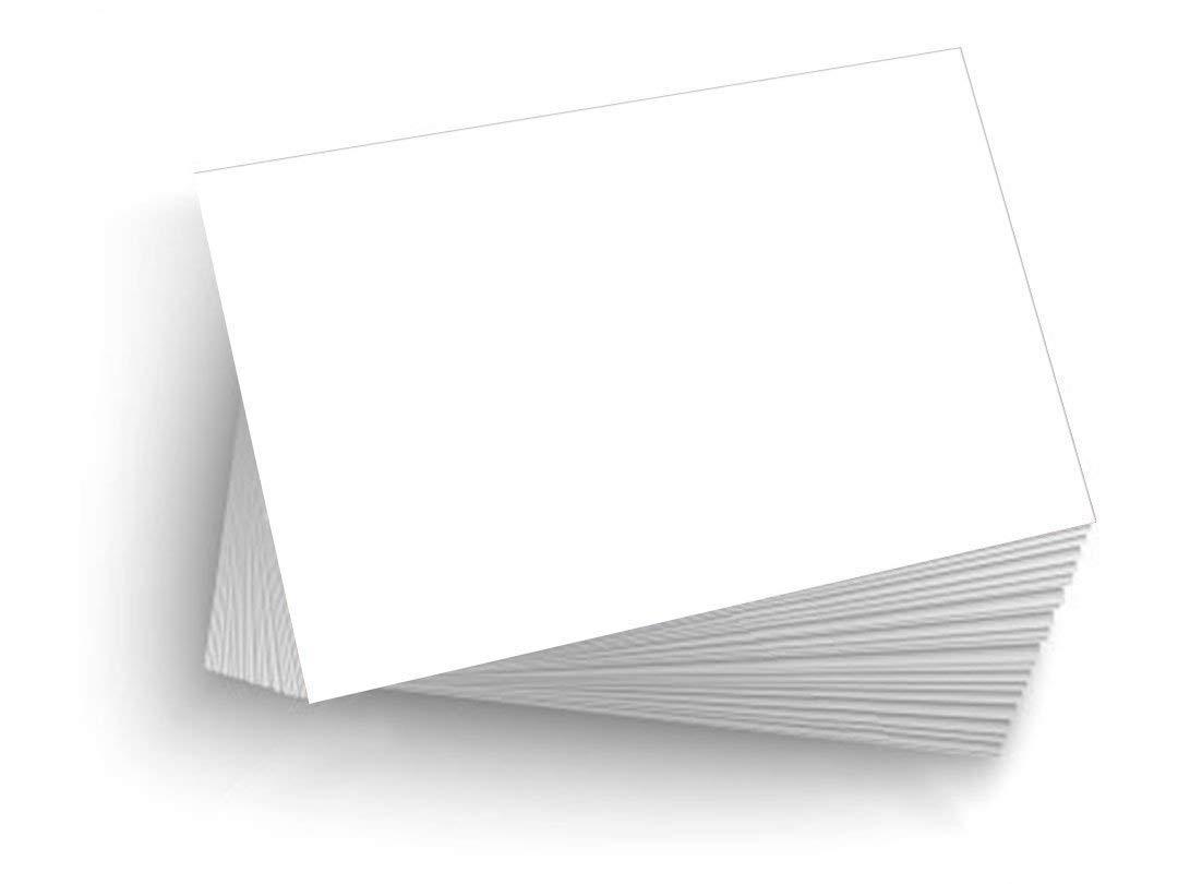 5000 Blank 5.5''x8.5'' Heavy Duty 14pt Index Cards, Postcards