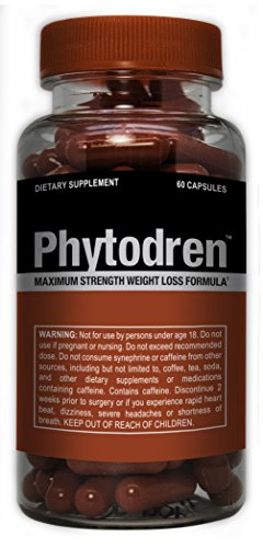 Phytodren - Hardcore Weight Loss - Burn Fat - Boost Energy Levels - Eat Less by Advantage Nutraceuticals