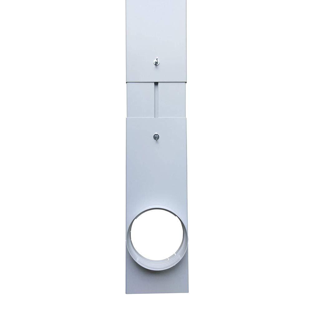 2 Piezas Placa de Kit de Ventana Ajustable Manguera de Escape Placa de Kit de Ventana 15 cm Conector de Adaptador de Ventana Aire Acondicionado port/átil D-SYANA8 Adaptador de Ventana